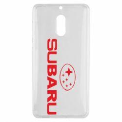 Чехол для Nokia 6 Subaru - FatLine