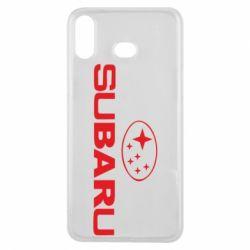 Чехол для Samsung A6s Subaru