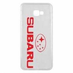 Чехол для Samsung J4 Plus 2018 Subaru - FatLine