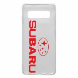 Чехол для Samsung S10 Subaru