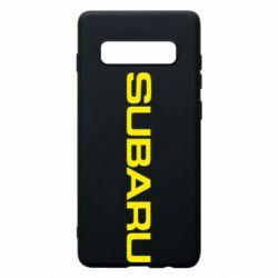 Чохол для Samsung S10+ Subaru
