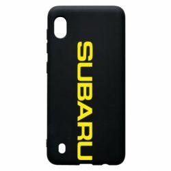 Чохол для Samsung A10 Subaru