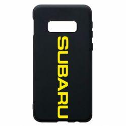 Чохол для Samsung S10e Subaru