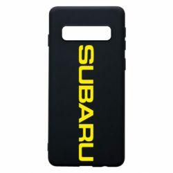 Чохол для Samsung S10 Subaru