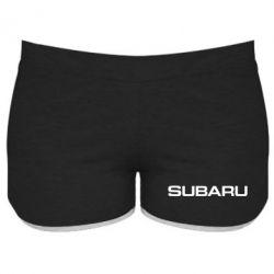 Женские шорты Subaru - FatLine