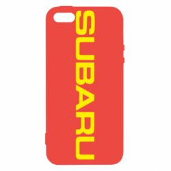Чехол для iPhone5/5S/SE Subaru