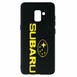 Чехол для Samsung A8+ 2018 Subaru - FatLine