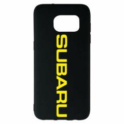 Чохол для Samsung S7 EDGE Subaru