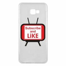 Чохол для Samsung J4 Plus 2018 Subscribe and like youtube