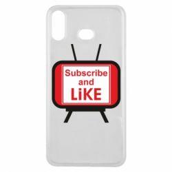 Чохол для Samsung A6s Subscribe and like youtube