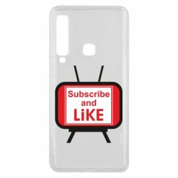 Чохол для Samsung A9 2018 Subscribe and like youtube