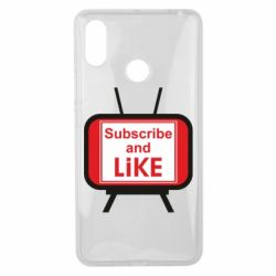 Чохол для Xiaomi Mi Max 3 Subscribe and like youtube