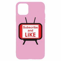 Чохол для iPhone 11 Subscribe and like youtube