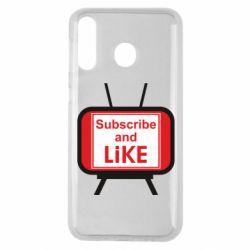 Чохол для Samsung M30 Subscribe and like youtube