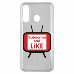 Чохол для Samsung M40 Subscribe and like youtube