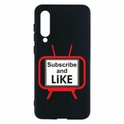 Чохол для Xiaomi Mi9 SE Subscribe and like youtube