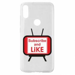 Чохол для Xiaomi Mi Play Subscribe and like youtube