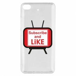 Чохол для Xiaomi Mi 5s Subscribe and like youtube