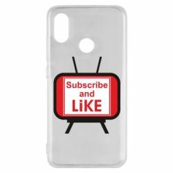 Чохол для Xiaomi Mi8 Subscribe and like youtube