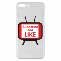 Чохол для iPhone 7 Plus Subscribe and like youtube