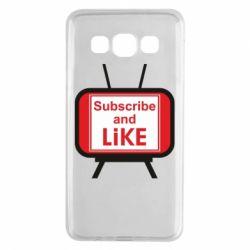 Чохол для Samsung A3 2015 Subscribe and like youtube