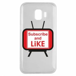 Чохол для Samsung J2 2018 Subscribe and like youtube