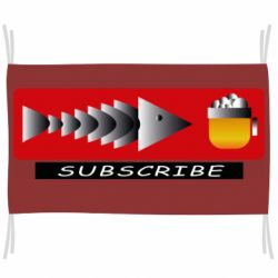 Флаг Subscribe Fish and Beer