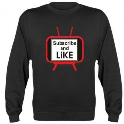 Реглан (світшот) Subscribe and like youtube