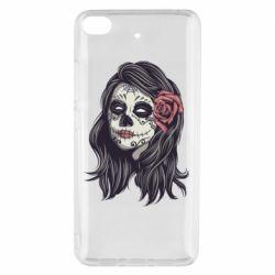 Чехол для Xiaomi Mi 5s Sugar girl with a rose