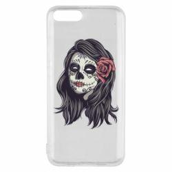 Чехол для Xiaomi Mi6 Sugar girl with a rose