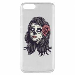 Чехол для Xiaomi Mi Note 3 Sugar girl with a rose