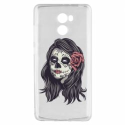 Чехол для Xiaomi Redmi 4 Sugar girl with a rose