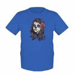 Дитяча футболка Sugar girl with a rose