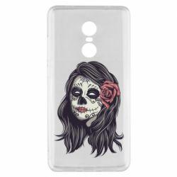 Чехол для Xiaomi Redmi Note 4x Sugar girl with a rose