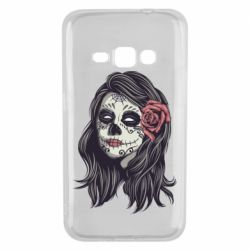 Чохол для Samsung J1 2016 Sugar girl with a rose