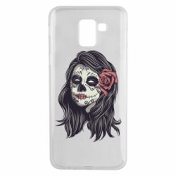 Чохол для Samsung J6 Sugar girl with a rose