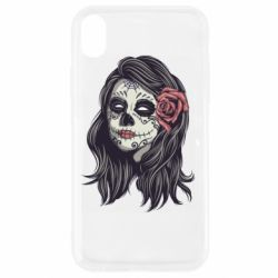 Чохол для iPhone XR Sugar girl with a rose