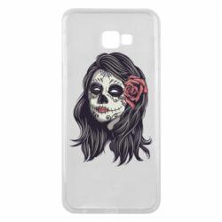 Чохол для Samsung J4 Plus 2018 Sugar girl with a rose