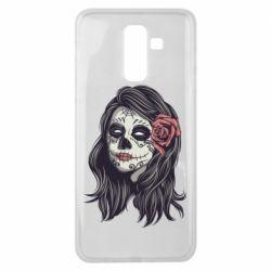 Чохол для Samsung J8 2018 Sugar girl with a rose