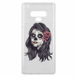 Чохол для Samsung Note 9 Sugar girl with a rose