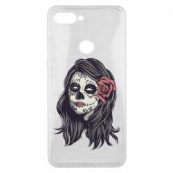 Чехол для Xiaomi Mi8 Lite Sugar girl with a rose