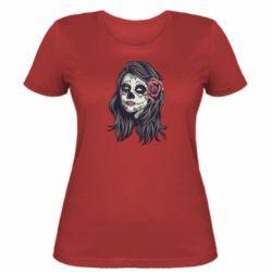 Жіноча футболка Sugar girl with a rose