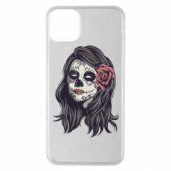 Чохол для iPhone 11 Pro Max Sugar girl with a rose