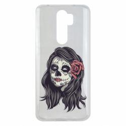 Чехол для Xiaomi Redmi Note 8 Pro Sugar girl with a rose