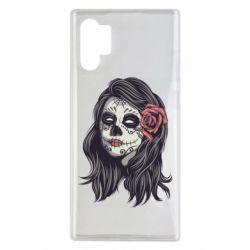 Чохол для Samsung Note 10 Plus Sugar girl with a rose