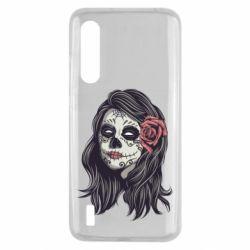 Чехол для Xiaomi Mi9 Lite Sugar girl with a rose