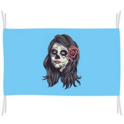 Прапор Sugar girl with a rose