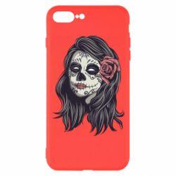 Чохол для iPhone 7 Plus Sugar girl with a rose
