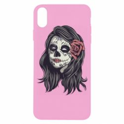 Чохол для iPhone X/Xs Sugar girl with a rose