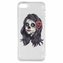 Чохол для iphone 5/5S/SE Sugar girl with a rose